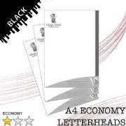 A4 Economy Letterheads